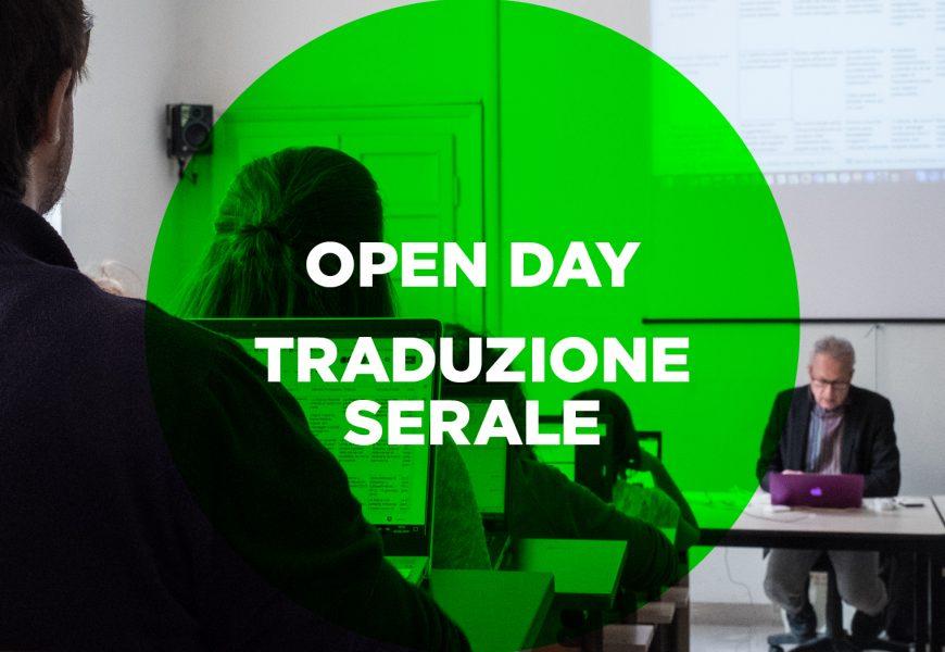 2020 Openday 5 Traduzione Serale