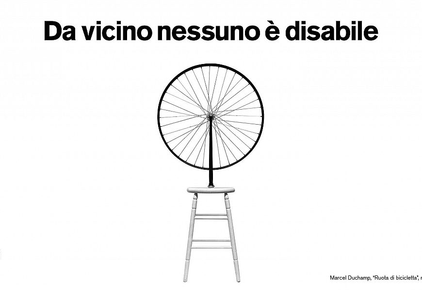 Da vicino nessuno è disabile