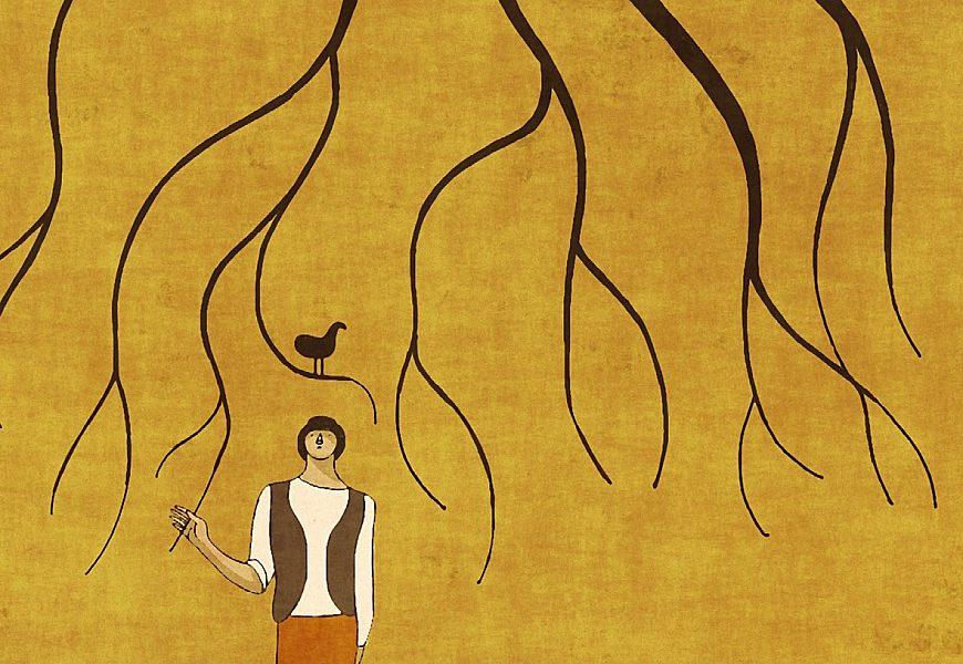 Il sentiero delle babbucce gialle