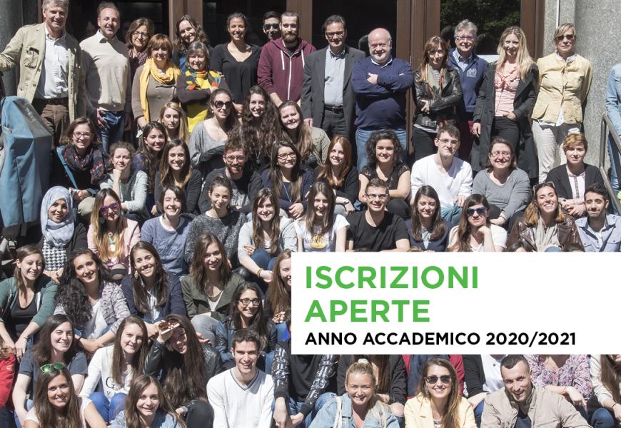 Iscrizioni 2020 Civica Altiero Spinelli