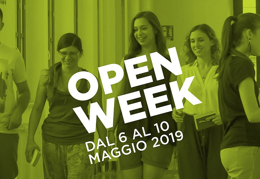 Open Week Sito