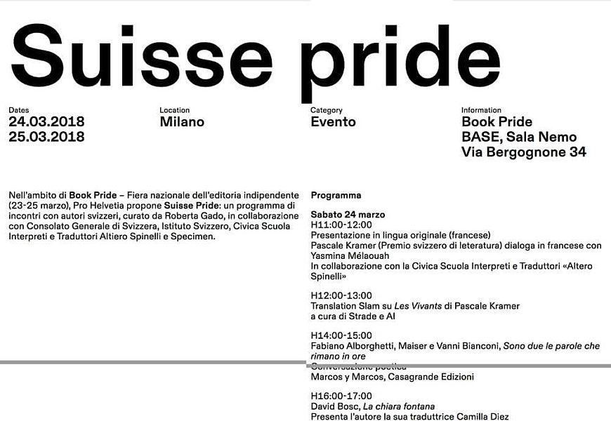 Suisse Pride 2018