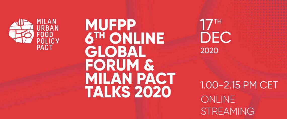 1 6th MUFPP 1 Global Forum Milan Pact Talks 2020
