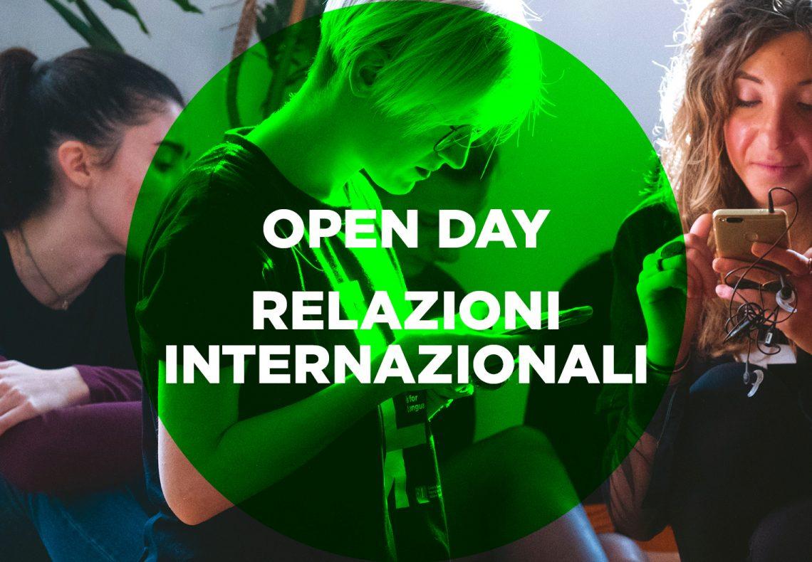 2020 Openday 4 Relazioni Internazionali
