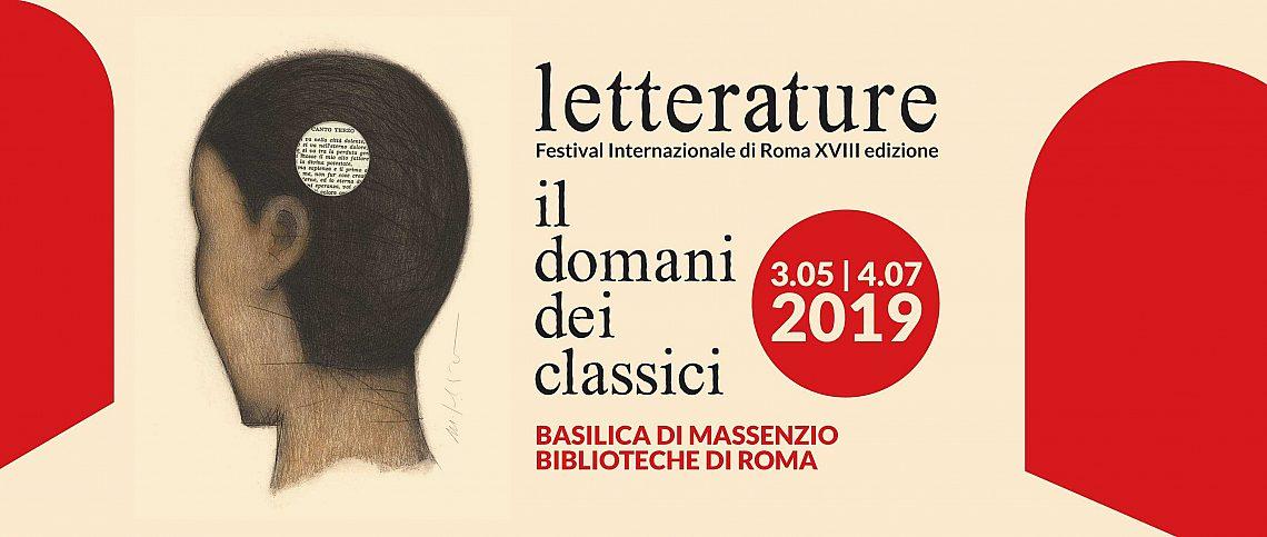 Locandina Festival Letterature 2019